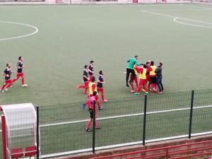 Bocale ADMO-Bagnarese 3-0 esultanza Secondi