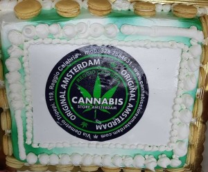 Cannabis shop torta