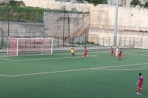 La rete del momentaneo 4-0 firmata dallo scatenato Buba Rukhadze