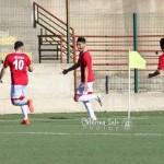 Brancati esulta dopo il suo primo gol