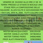 Locandina stage