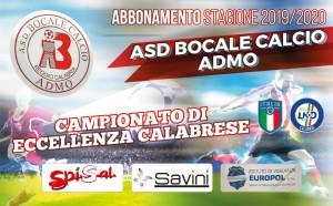 Abbonamento Bocale 2019-2020 - Lato A
