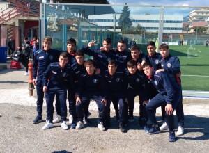 Ancora una pesante vittoria in trasferta per l'Under 17 biancorossa, corsara a Soverato